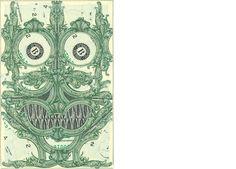 Mark Wagner Inc. Dollar bill art