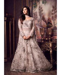 dbd945f103b Pastel Lavender Blush Lehenga Style Partywear Dress