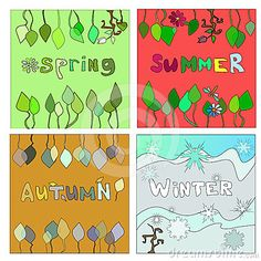 Fall Winter, Autumn, Four Seasons, Spring Summer, Fall, Seasons Of The Year