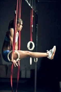 Without weightlifters the best way to carry your own body ♥