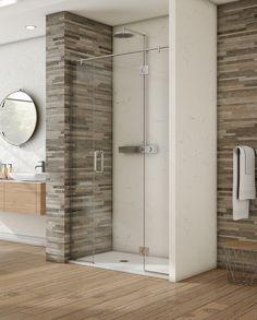 Image Showers. high end shower doors.  shower doors . Made in Ireland Safety Glass, Shower Doors, Showers, Tall Cabinet Storage, Ireland, Image, Home Decor, Shower, Interior Design