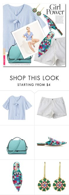 """""""What's Your Power Look?"""" by svijetlana ❤ liked on Polyvore featuring J.Crew, Emilio Pucci, Stila, zaful and MyPowerLook"""