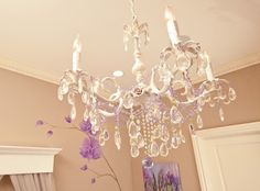 Anything that makes you hunt around or call for price has to be outrageous but these mini chandeliers are so pretty!