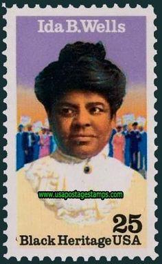 Harriet Tubman Stamp   Commemorative+Stamp   Commemorative Stamps: 25c Ida B. Wells ...