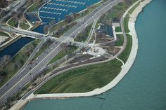 """""""New Parkland, Trail Along Lakefront Gives Chicagoans 'Room To Breathe' """"  --No such thing as too many lakefront parks in Chicago!"""