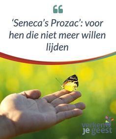 Seneca's Prozac': voor hen die niet meer willen lijden Er is geen enkel #menselijk wezen op de wereld dat wil lijden. Van nature #willen #mensen gelukkig zijn. Maar hoe bereiken we geluk? #Boeken