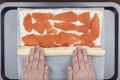 Tämä resepti leviää kulovalkean tavoin – kylmäsavulohella täytetty pizzarulla – Herkkusuu.fi No Salt Recipes, Fun Easy Recipes, Baking Recipes, Savory Pastry, Savoury Cake, Home Bakery, Food Swap, Tasty, Yummy Food