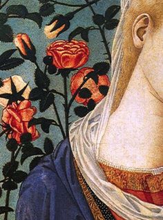 Madonna of the Roses (detail)   Pseudo Pier Francesco Fiorentino   15th c.