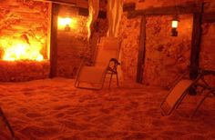 Visit the Himalayan Salt Cave in Carlisle .... relaxing & healing.