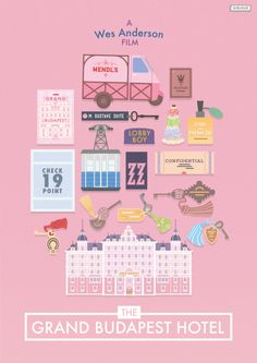 Masterpost: The Wonderful World of Wes Anderson selling prints of these soon! Film Inspiration, Graphic Design Inspiration, Gran Hotel Budapest, Wes Anderson Movies, Grande Hotel, Film Poster Design, Alternative Movie Posters, Design Graphique, Presentation Design