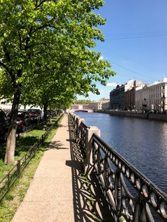 This photo was taken on the Day of the City, on 27 May 2020. Although things are much quieter than usual this year, there is certain charm in less crowded embankments of our beautiful city, isn't it?  Visit our Instagram for more inspiration! Rivers, Tours, City, Instagram, Beautiful, Saints, May 27, Saint Petersburg, Bridges