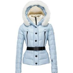 Not to be confused with the home to many Hollywood stars, the Moncler Women's Beverley Giubbotto Jacket offers haute-couture style and steadfast, mountain-approved warmth. The Beverley features a durable, yet lightweight nylon exterior that's as chic as it is weather-resistant, while the down insulation provides cozy warmth in the face of cool temperatures. Additionally, the internal gaiters and snow skirt are designed as such that they seal out cold drafts and snow, and the bevvy of ...