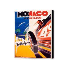 "Monaco Avril 1934 (20"" x 16"")"