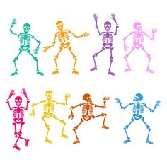 Skeletons Dancing Cuttable Design Cut File. Vector, Clipart, Digital Scrapbooking Download, Available in JPEG, PDF, EPS, DXF and SVG. Works with Cricut, Design Space, Cuts A Lot, Make the Cut!, Inkscape, CorelDraw, Adobe Illustrator, Silhouette Cameo, Brother ScanNCut and other software.