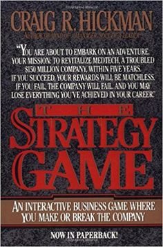 Amazon.com: The Strategy Game (9780070287259): Craig R. Hickman: Books