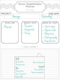 Gifts We Use: Room Organization Planner & Printable
