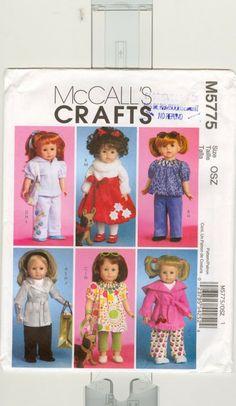 Free Copy of Pattern - McCalls 5775