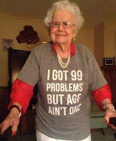 This is something Darikk's grandma would wear