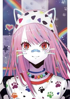 Anime Cute Girls With Cat Ears Sweet Cute Cat Girl Wallpapers To