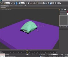 Creating a Pillow in Autodesk 3Ds Max : http://bimoutsourcing.com/creating-a-pillow-in-Autodesk-3Ds-Max.php