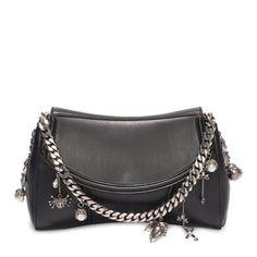Calf Leather Medallion Satchel Alexander McQueen | Shoulder Bag | Bags |