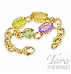 Roberto Coin Ipanema Bracelet in 18K Yellow Gold.  Tara Fine Jewelry Company, Atlanta.