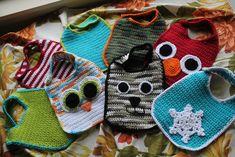So-Simple Baby Bibs By Bobbi Anderson - Free Crochet Pattern - (ravelry)