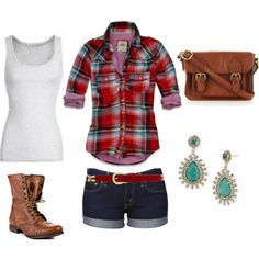 Love The Shorts And Tank Top This Is Perfect Hiking Outfit