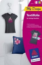 Největší obrázek výrobku Nažehlovací fólie AVERY na textil 9abfcc763e