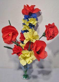 Pomysły plastyczne dla każdego DiY - Joanna Wajdenfeld: Wielkanoc - kwiatki, palemki