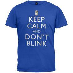 Doctor Who - para hombre Keep Calm T-camiseta de manga corta #camiseta #friki #moda #regalo