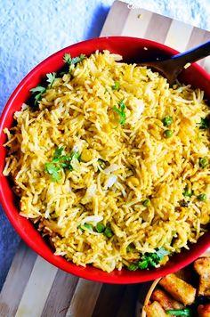Corn peas pulao recipe | how to make peas-corn pulao recipe | Cook click n devour!!!