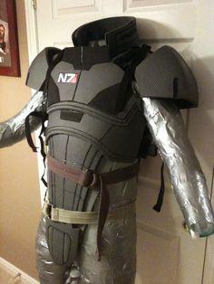 tim's mass effect armor progress via therpf.com