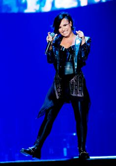 """"""" Demi Lovato performing at The Prudential Center in Newark, New Jersey - October 25, 2014. (x) """""""