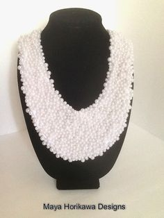 Maya Horikawa Designs: Snow Fallen Necklace