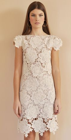 Lover 3D Star Lace Bridesmaid Dress