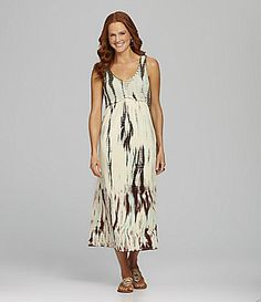 658901b44cc Reba Sleeveless TieDye Maxi Dress  Dillards