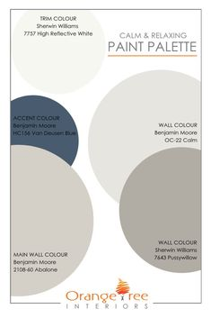 paint colors This calm and relaxing, neutral paint palette is great for any home. Switch out the accent colour to create a completely different look. Or, if you'd like help creating a paint palette for your home, contact me! Paint Colors For Home, House Colors, Outside House Paint Colors, Lowes Paint Colors, Indoor Paint Colors, Fixer Upper Paint Colors, Valspar Paint Colors, Popular Paint Colors, Exterior Paint Colors For House