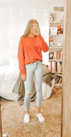Adorable Latest Fall Outfit Ideas For Girls That Looks So Cute Outfits 2019 Outfits casual Outfits for moms Outfits for school Outfits for teen girls Outfits for work Outfits with hats Outfits women Cute Comfy Outfits, Mom Outfits, Cute Casual Outfits, Outfits For Teens, Cute Outfits For Dates, Teenage Girl Outfits, Teen Fashion Outfits, Look Fashion, Preteen Fashion