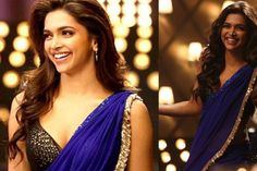 The hair, the saree, love it all!