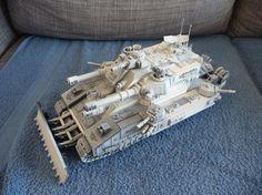 Custom Super-Heavy tank