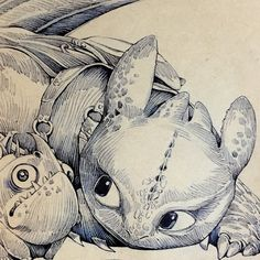 Toothless Sketch, Animal Drawings, Art Drawings, Small Dragon Tattoos, Nature Iphone Wallpaper, Dragon Sketch, Ange Demon, Pinturas Disney, Art Station