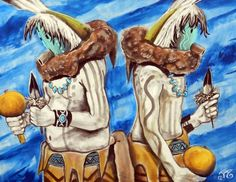 Navajo Yeis by Ellrigg Allen