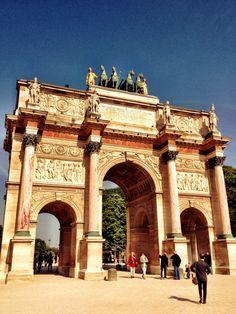Arco de Triunfo del Carrusel (Paris - France)