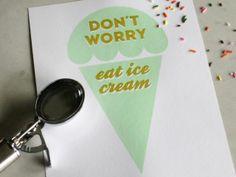 Ice Cream {LOVE}!