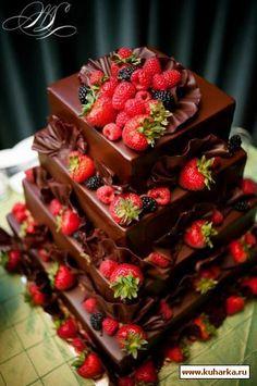 Картинки по запросу украшение шоколадного торта