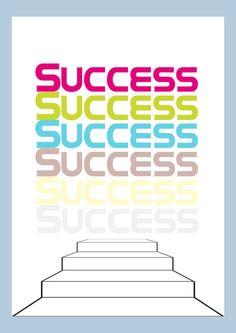success - Art Print by Konlux