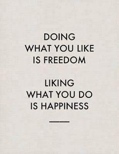 Freedom & Happiness