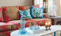 Jim Thompson and British Designer Richard Smith Combine for Oriental-Inspired Home-Fabric Collection