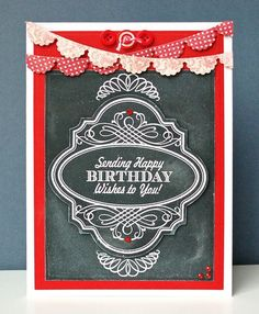 JustRite Papercraft May Release Birthday Vintage Labels Four